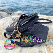 Embroidered Strap Bag Purse - $30 PROMO FREE SHIPPING