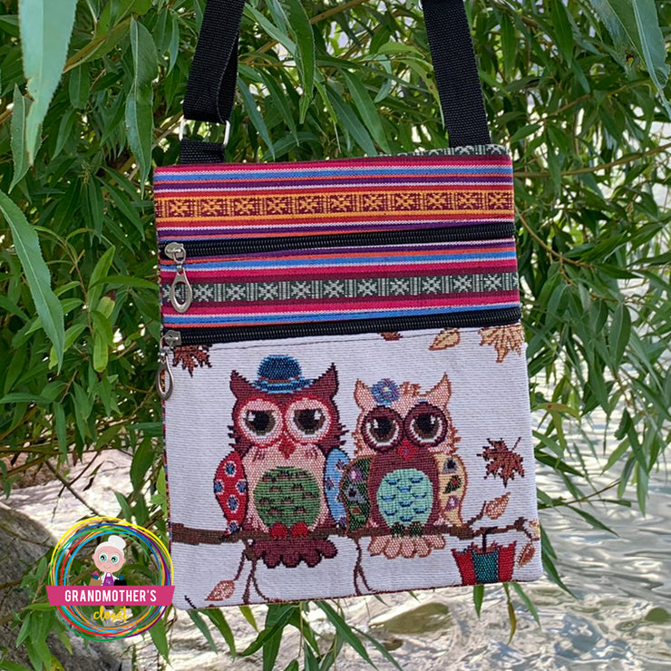 Embroidered Owl Tote Bag - $19 PROMO FREE SHIPPING