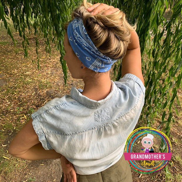 Soft Retro Inspired Headband -$16.50 PROMO FREE SHIPPING