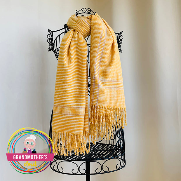 Cozy Fall Plaid Scarf - $36 PROMO FREE SHIPPING