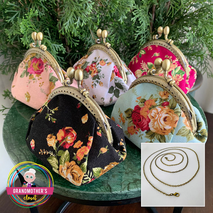 Grandmother's Vintage Style Coin Purse - $14 PROMO SALE FREE SHIPPING