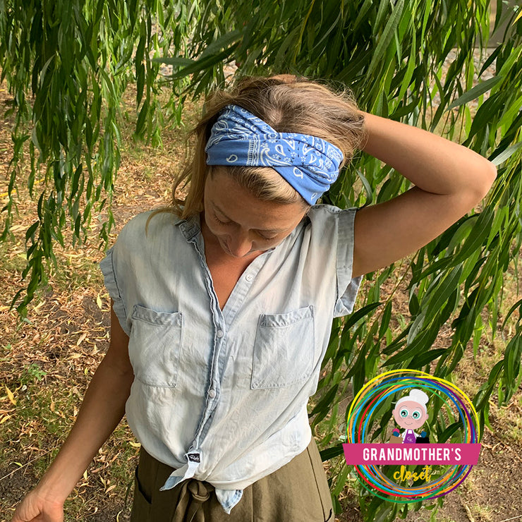 Value 6 Pack - Soft Retro Inspired Headband -$48 PROMO FREE SHIPPING