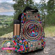 Embroidered Backpack Purse - $54 PROMO FREE SHIPPING