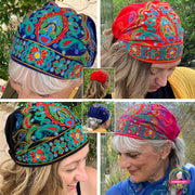 Embroidered Bandana Caps - $19.95 PROMO FREE SHIPPING