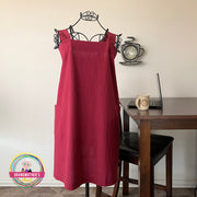 Simple Cotton Apron - Petite to Plus Sizes -$32.95 PROMO FREE SHIPPING