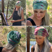 THIS COLOR ONLY ! 60% OFF TIE DYE BANDANA