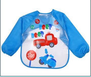 Art & Mealtime Pinny - Blue Trucks