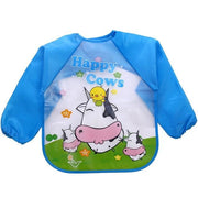 Art & Mealtime Pinny - Happy Cows