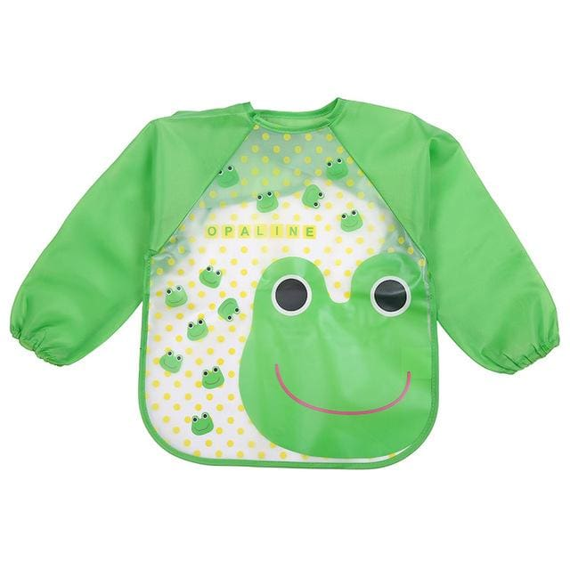 Art & Mealtime Pinny - Opaline Frog
