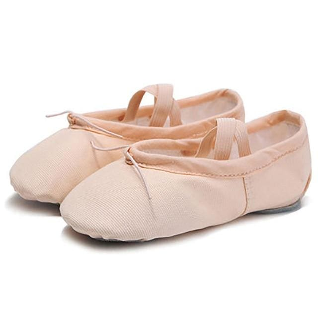 Ballet Slippers - Adult & Children - Nude / Child 4 - EU 22