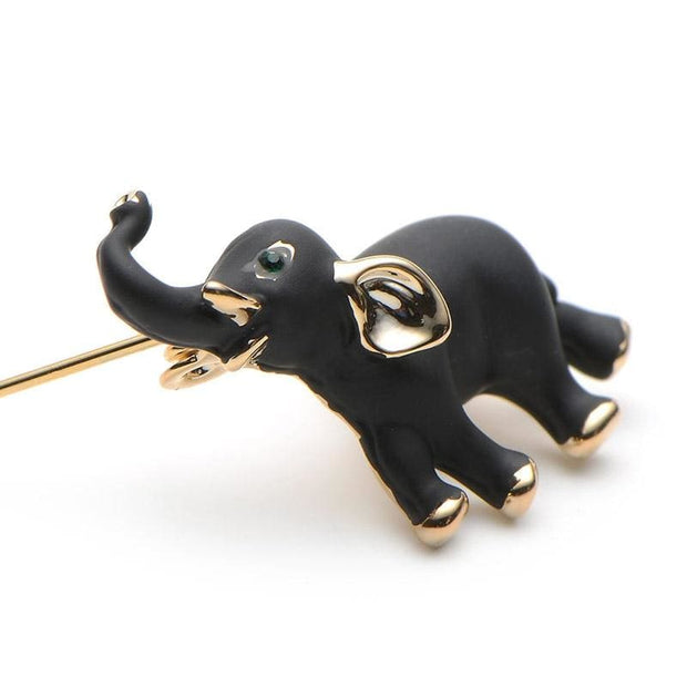 Black Elephant Brooch - $16 FREE SHIPPING PROMO