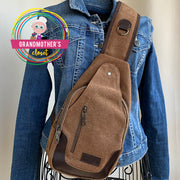 Canvas Crossbody Bag - $35 PROMO FREE SHIPPING