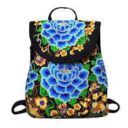 Embroidered Retro Backpack -$38 PROMO FREE SHIPPING - F / United States