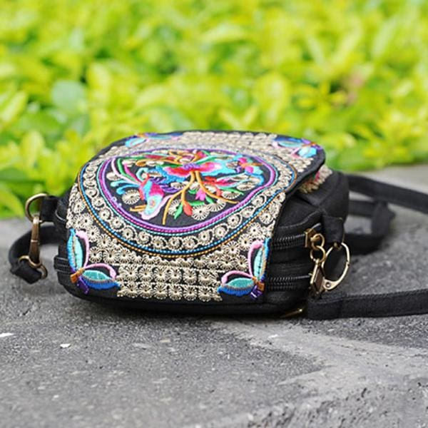 Embroidered Strap Bag - $28 PROMO FREE SHIPPING