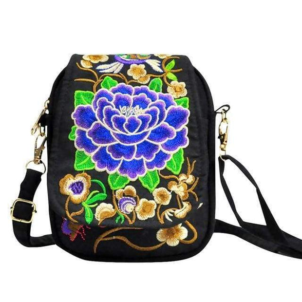 Embroidered Purse - $26 PROMO FREE SHIPPING - B / United States