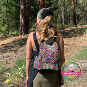Embroidered Backpack Purse - ON SALE TODAY
