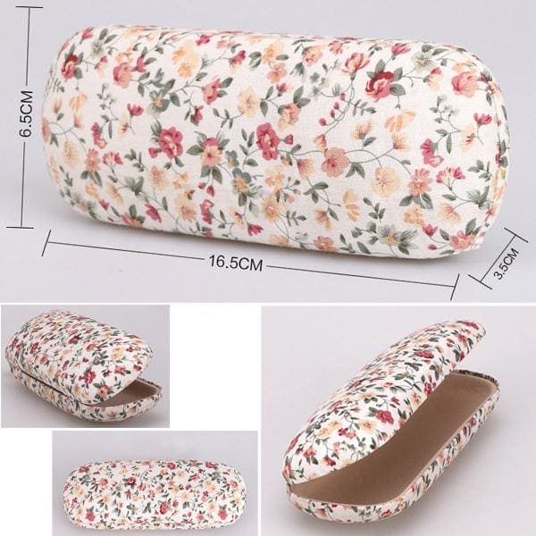 Floral Fabric Eyeglass Cases