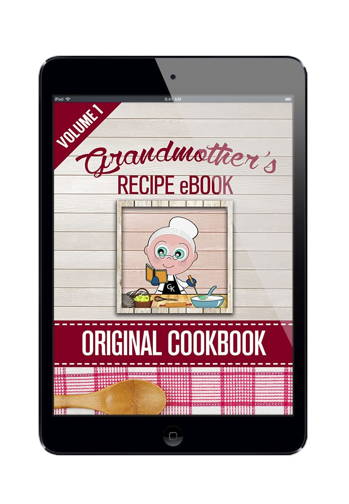 Grandmothers Original Recipe eBook - Volume 1