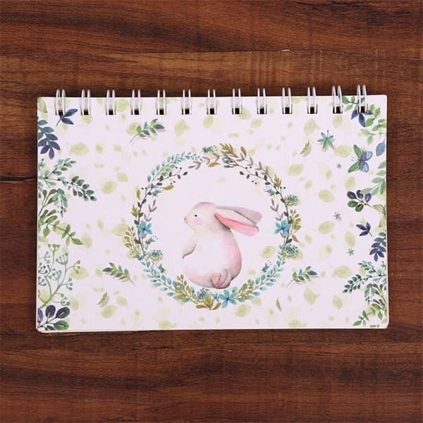 Old Fashioned Hand-Written Weekly Planner - Rabbit