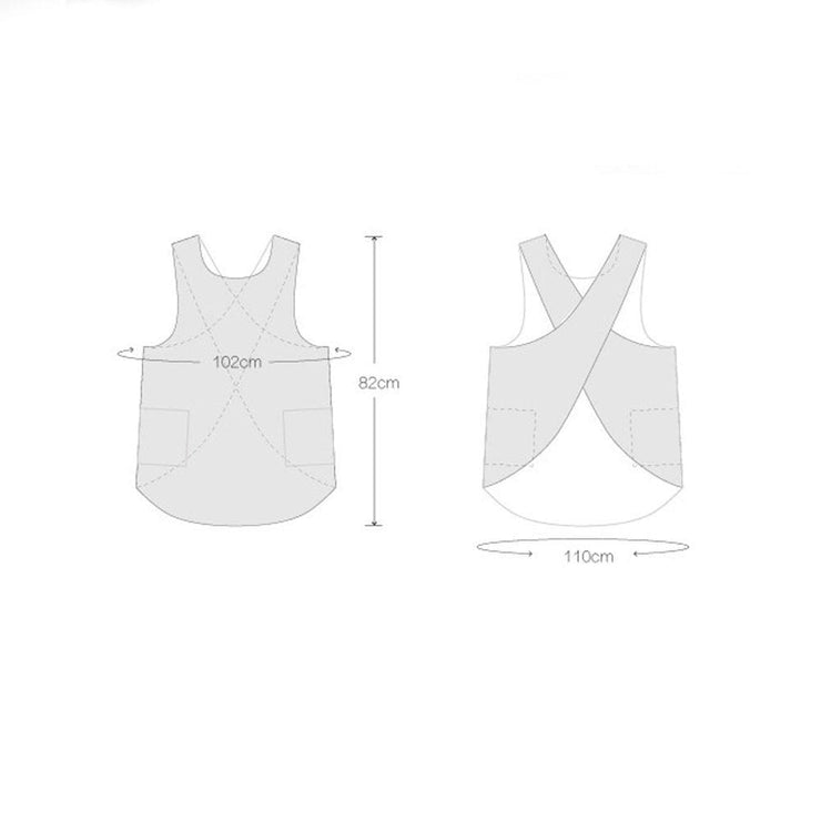 Petite Cross Back Pinafore