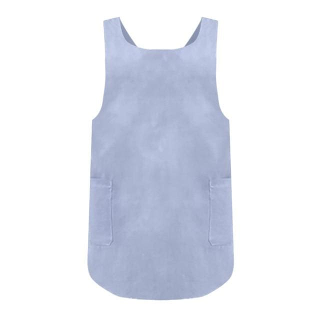 Petite Cross Back Pinafore - Sky blue