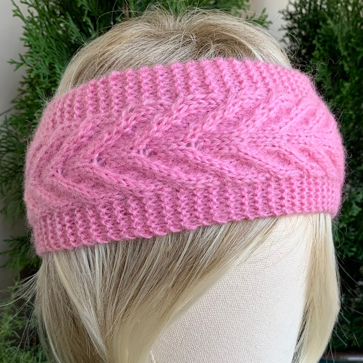 100% UP-CYCLED CANADIAN HANDMADE ARTISAN KNIT HEADBANDS - CABLE KNIT COLLECTION