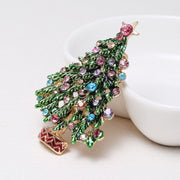 BIG BLOW OUT SALE on this Christmas Tree Brooch - $20 PROMO FREE SHIPPING