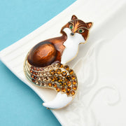 Foxy  Brooch - $22.99 PROMO FREE SHIPPING