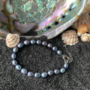 Genuine Natural Black Freshwater Pearl Set - $60 - PROMO FREE SHIPPING