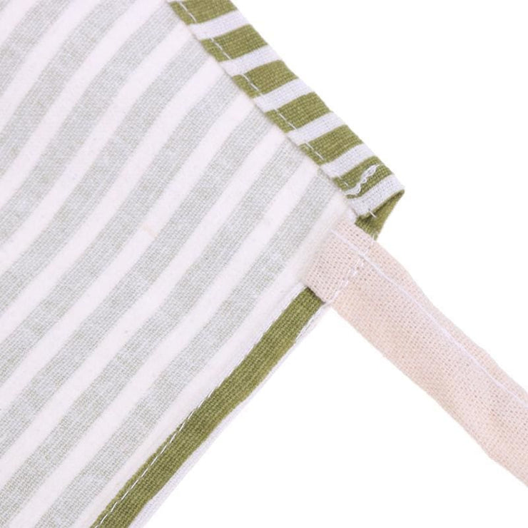 Striped Cotton Linen Apron