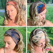 4 Pack Super Soft Tie Dye Headbands - $39 PROMO FREE SHIPPING