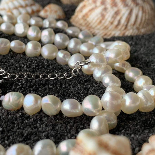 Freshwater Pearl Necklace & Bracelet - $60 PROMO FREE SHIPPING