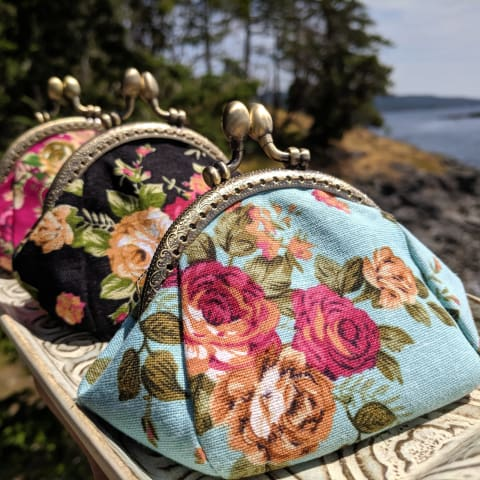 Grandmothers Vintage Style Coin Purse - BUY 2 GET 1 FREE PROMO