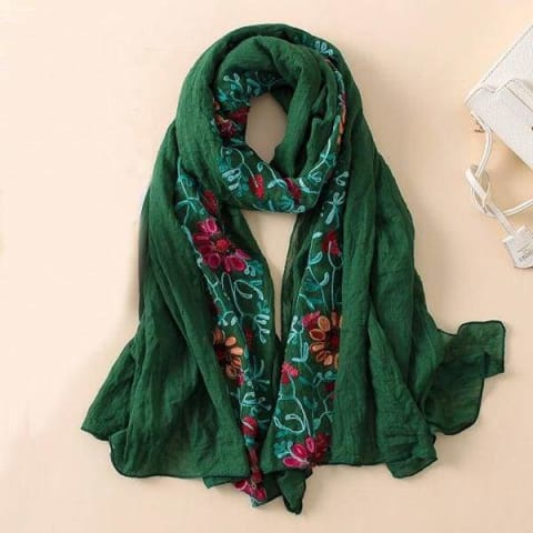 Light Embroidered Scarves - $19.50 PROMO FREE SHIPPING TODAY