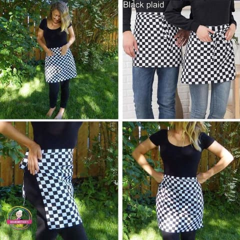 The Shorty Apron - $12 PROMO FREE SHIPPING TODAY ONLY