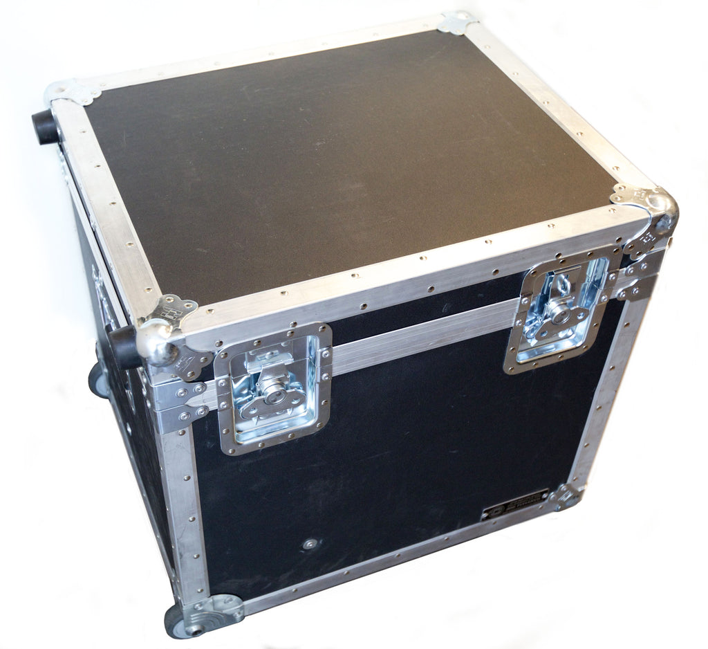 Two Light Anvil Wheeled Road Case