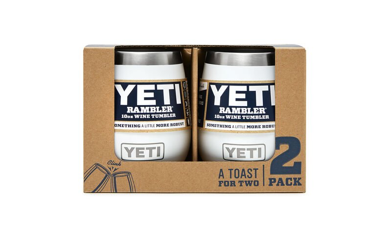 Yeti Coolers Rambler 10oz Wine Tumbler 2 Pack White