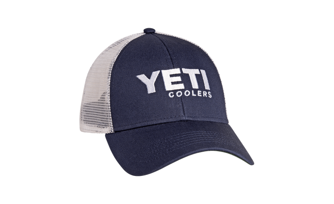 Yeti Coolers Tradtional Trucker Hat Navy