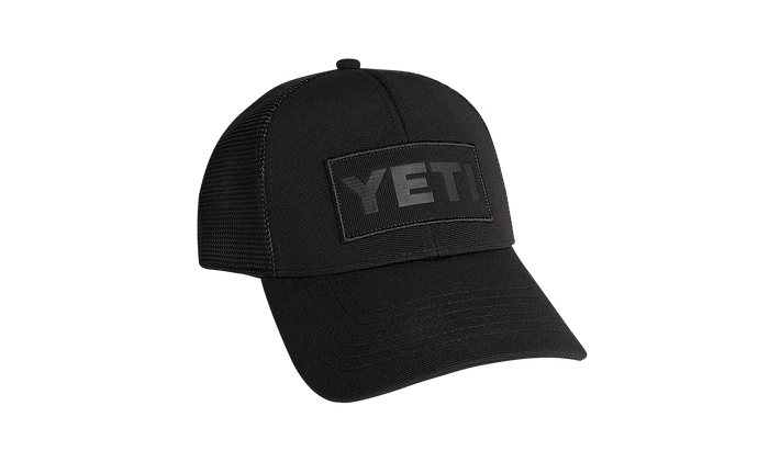 Yeti Coolers Patch Trucker Hat Black