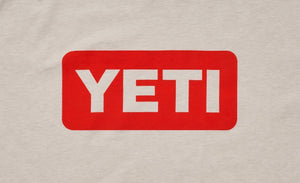Yeti Coolers Badge Logo T-shirt Canyon Red