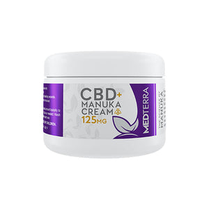 CBD + manuka cream 125/250 mg