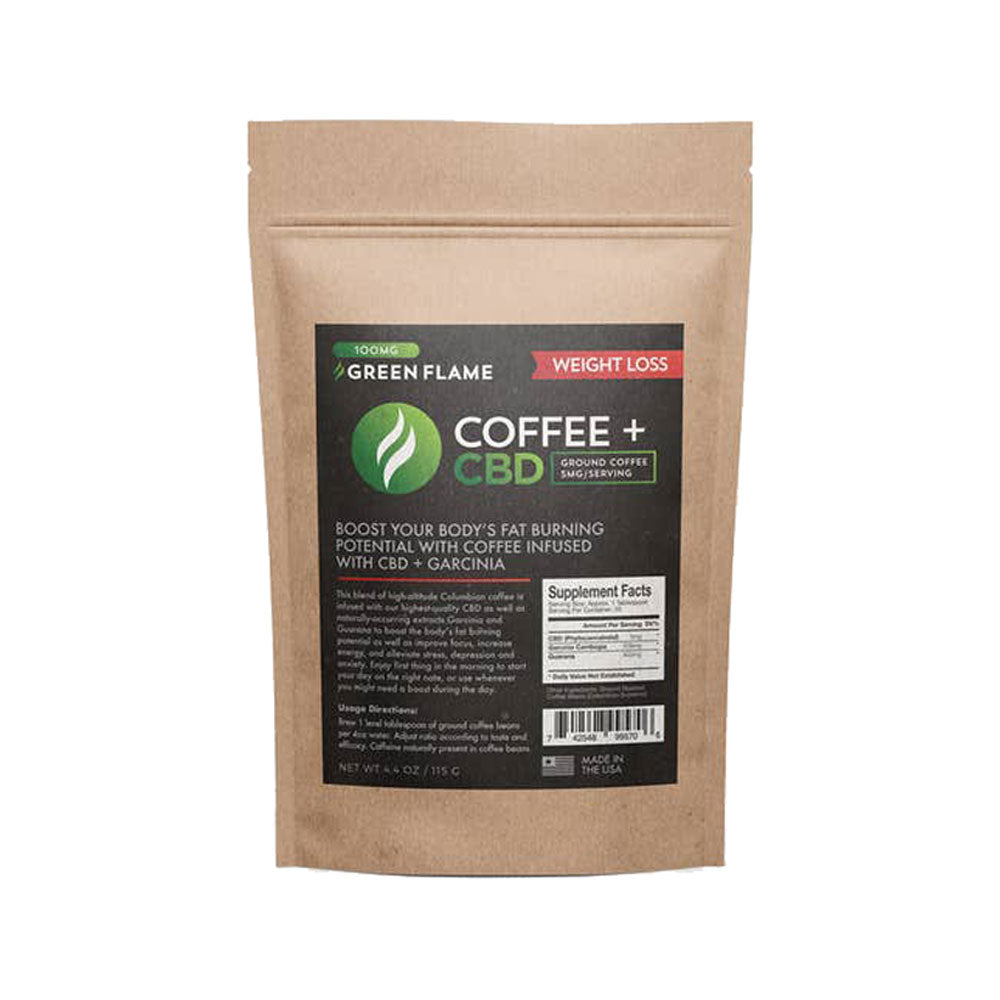 CBD weight loss coffee + garcinia 100 mg