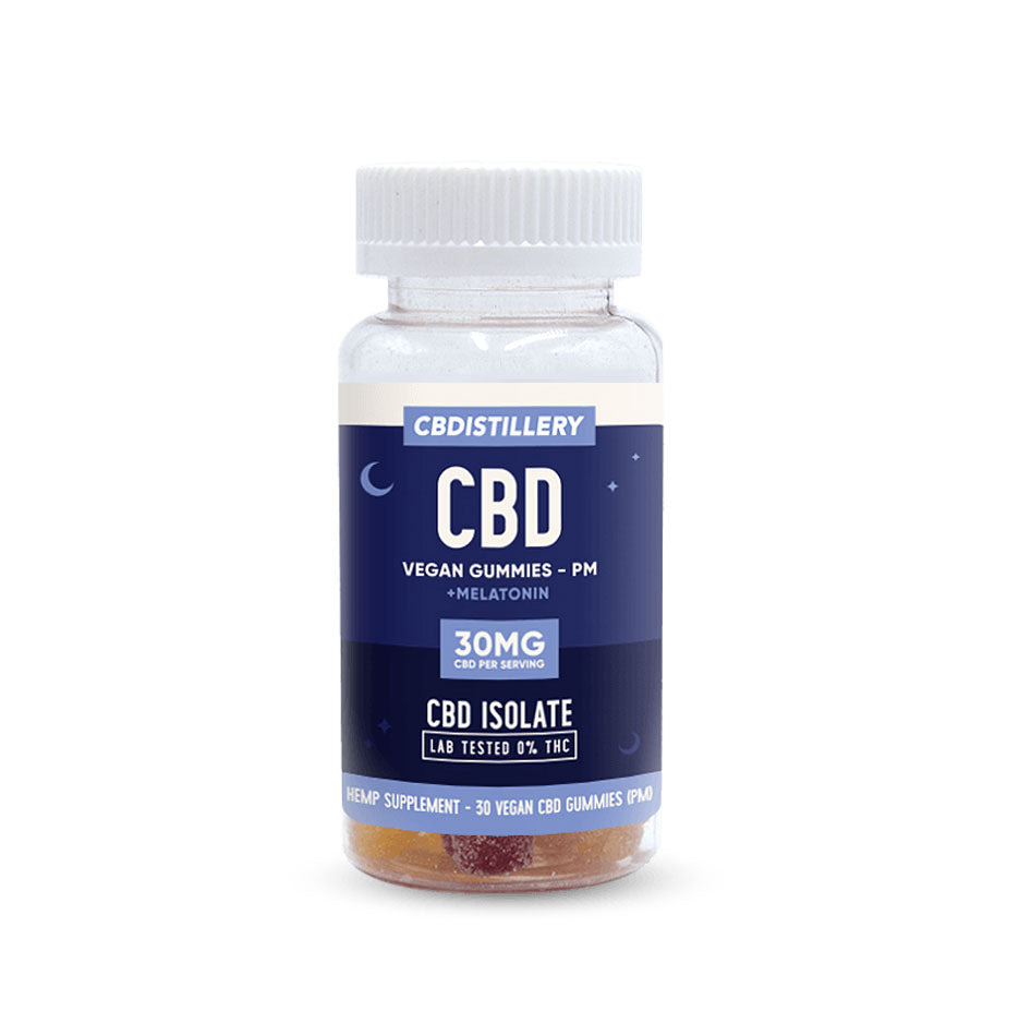 isolate CBD nighttime gummies 30 mg