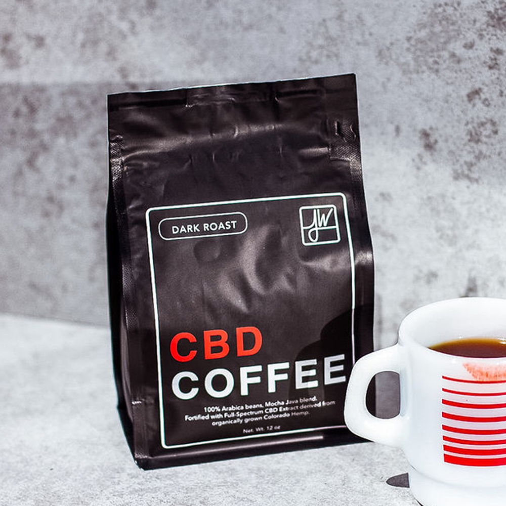 roasted CBD coffee