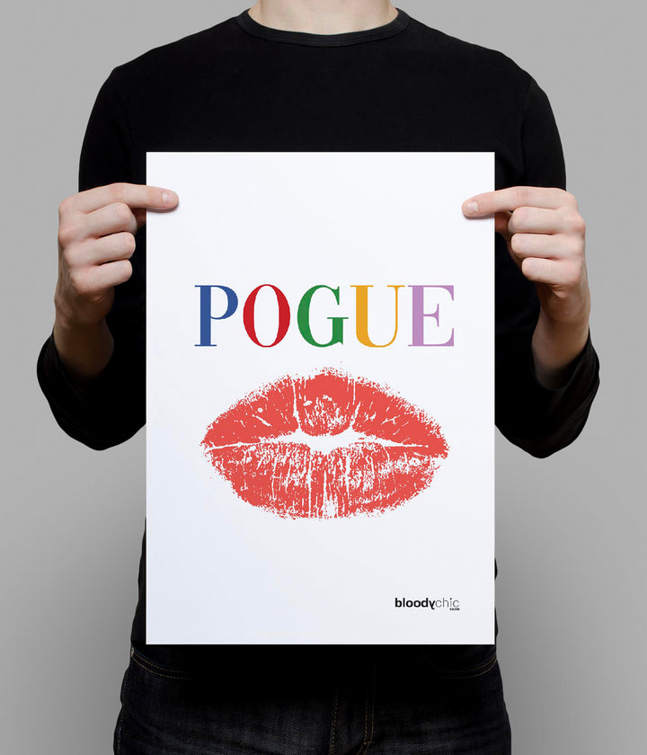 POGUE Text_A3 Poster