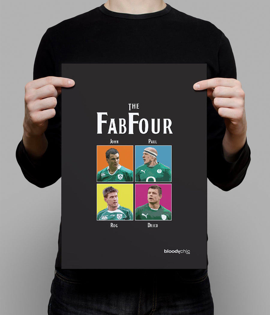 Fab4_Let it Be_A3 Poster