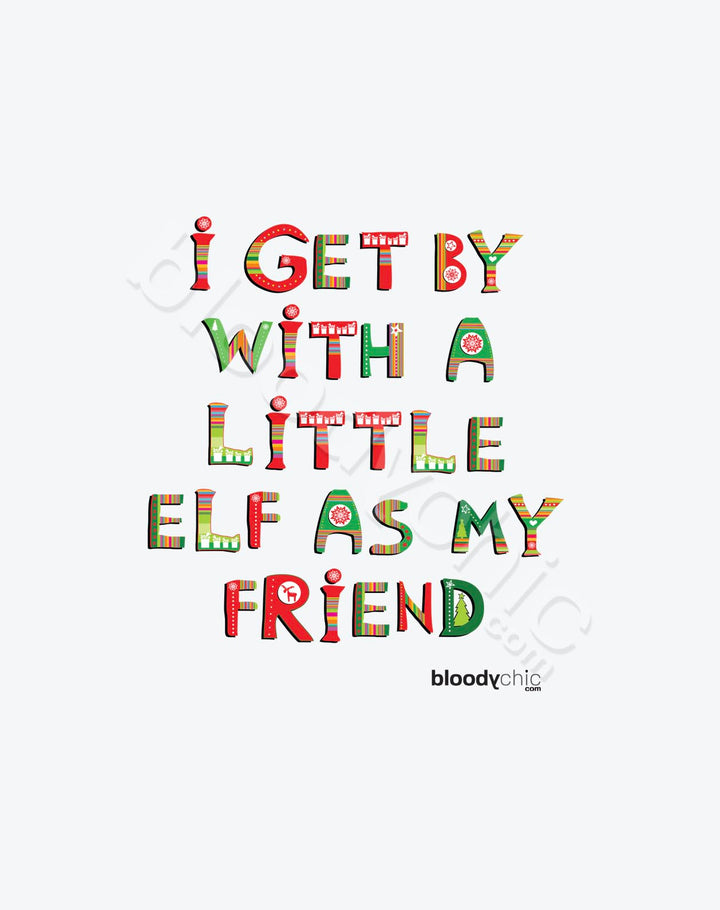 Elf as my Friend_TEXT