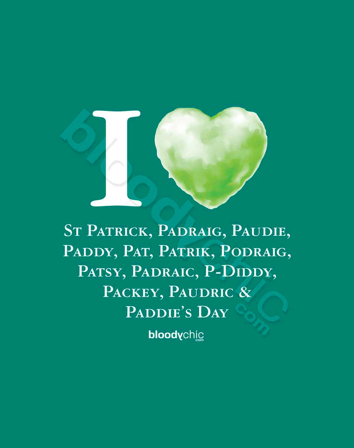 I Love St Patrick_Multi