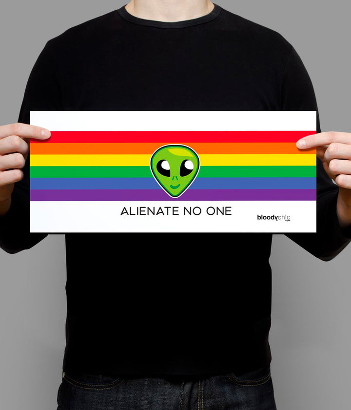 Alienate No One_Landscape Poster