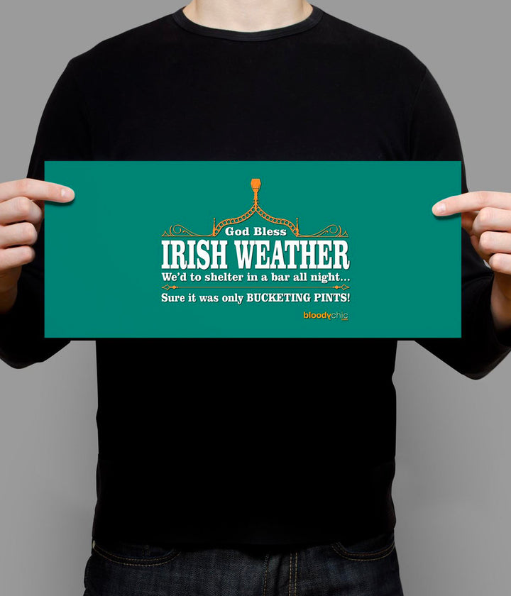 Irish Weather_Landscape Poster